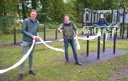 Koopman en Leferink openen sport- en speeltoestel