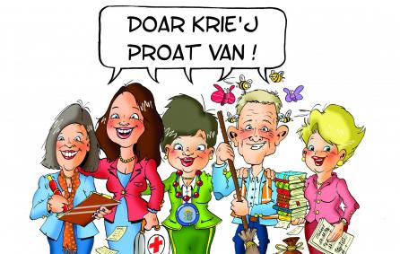 cartoon met Hilde
