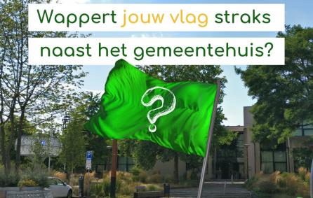 Oproep ontwerp de gemeentevlag