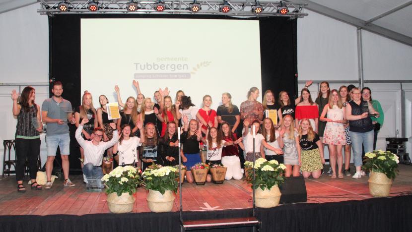 Foto sportgala winnaars