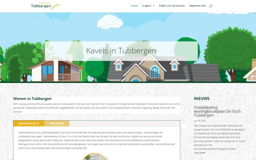 Kavelwebsite gemeente Tubbergen